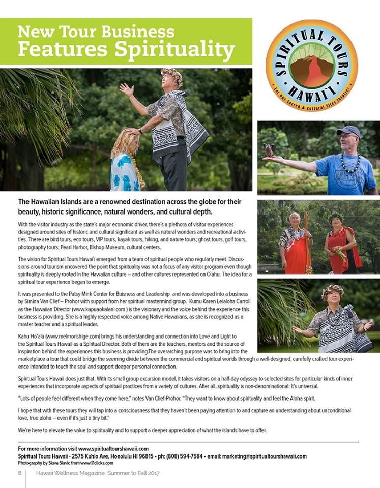 hawaii wellness magazine article